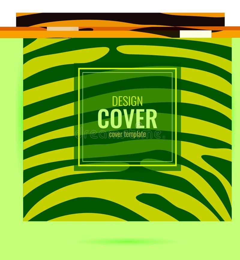 Предусматрива дизайна оранжевая с текстурой кожи тигра абстрактный график предпосылки иллюстрация вектора