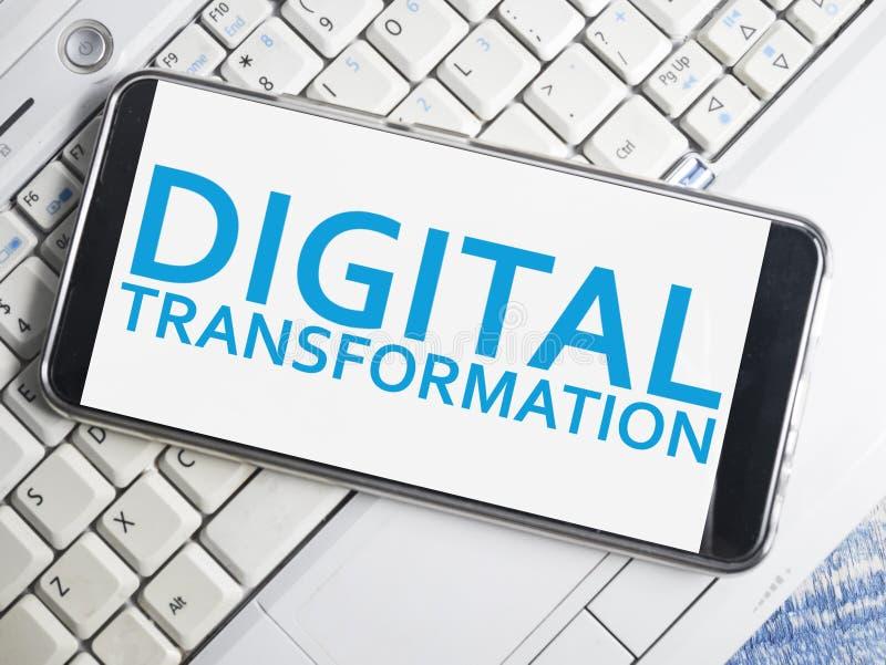 Преобразование цифров, концепция цитат слов стоковое фото rf