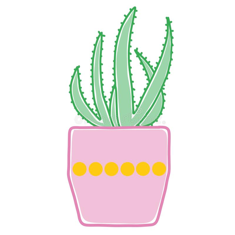 Причудливые графики кактуса стоковое фото rf