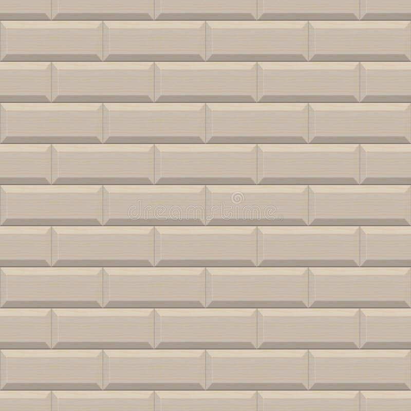 Прямоугольники дизайна стены 3d деревянные Высококачественное безшовное бесплатная иллюстрация