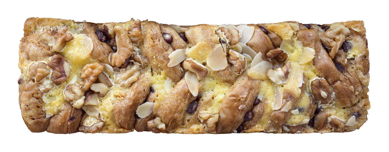 Прокладка хлеба гайки хлопьев стоковая фотография rf