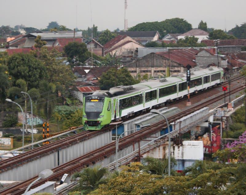 Поезд Prameks стоковая фотография
