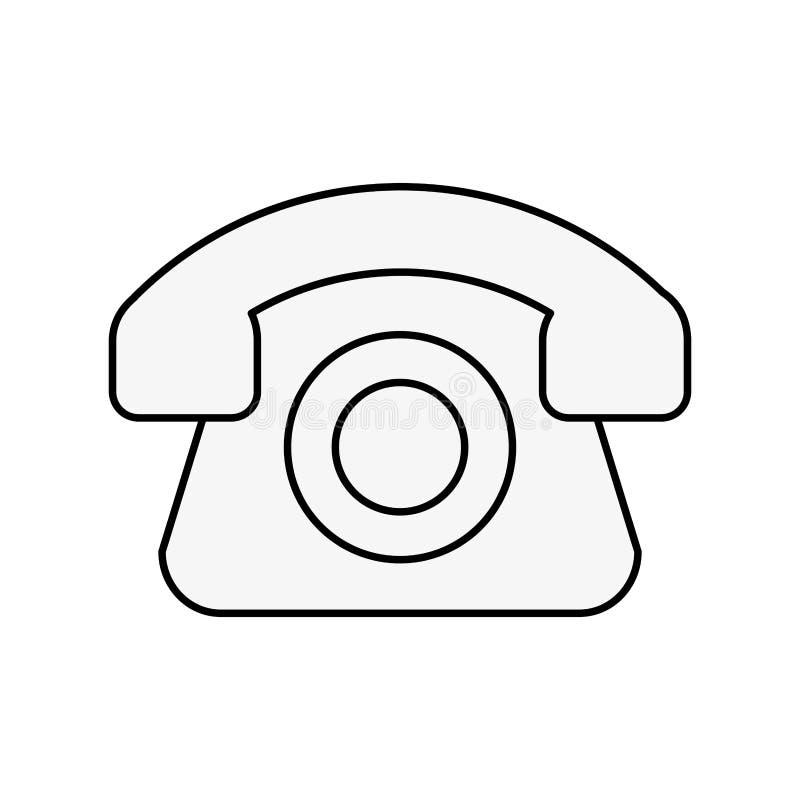 Покупки линии для помощи телефона онлайн логистические иллюстрация вектора