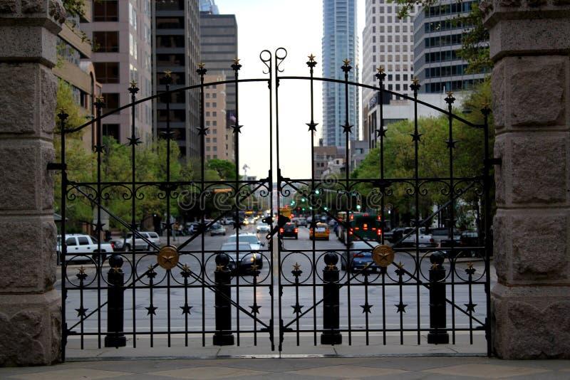 положение texas капитолия здания austin стоковая фотография rf