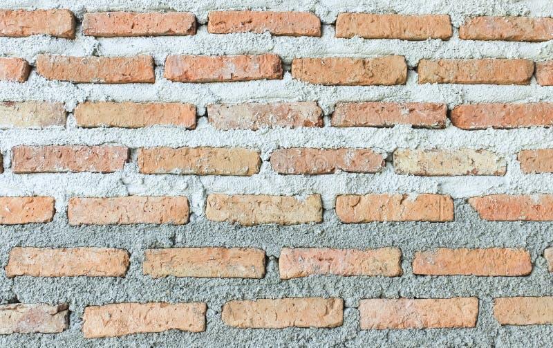 Построьте половинную деталь кирпичной стены бесплатная иллюстрация