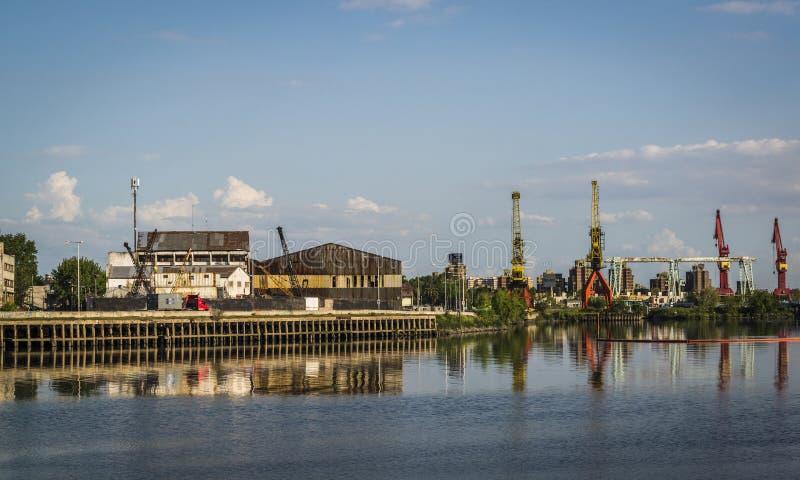 Порт Boca Ла, Буэнос-Айрес, Аргентина стоковое фото rf