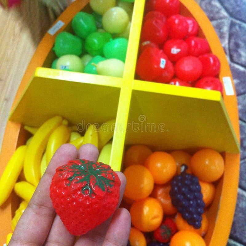  ðŸ игрушки клубники  « ðŸ пластичного «ðŸ « стоковое фото