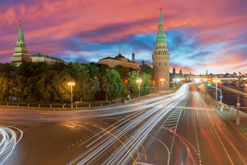"""МР¾ Ñ  кР² а КреР¼ Ð de"""" stad het Kremlin van ÑŒ/van Moskou royalty-vrije stock afbeelding"""