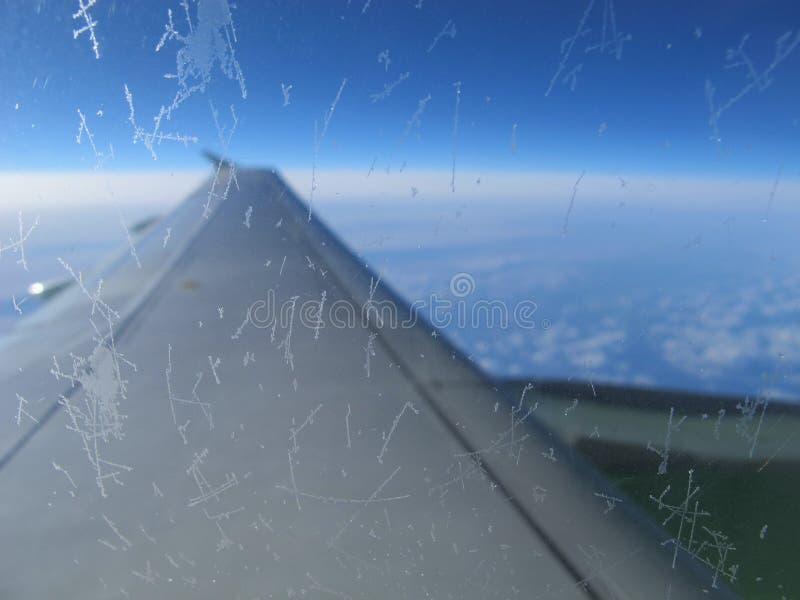 Ð在飞行中 ircraft 免版税库存图片