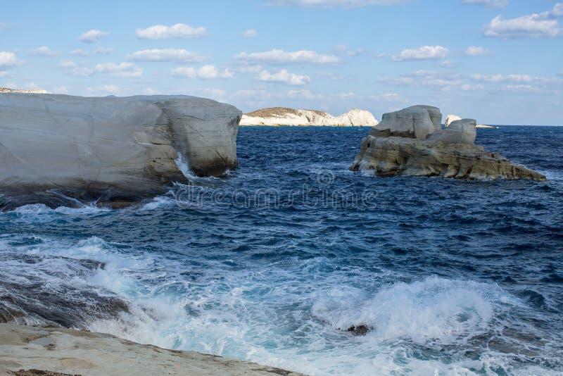Ð芦粟海岛,爱琴海,希腊¡烘炉  自然 免版税库存图片