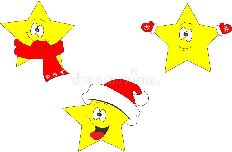 Ð-sterisks nytt år Jul Vinter arkivbild