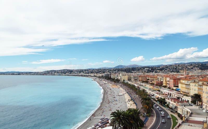 Ð-¡ Darre von Nizza, Frankreich stockfotografie