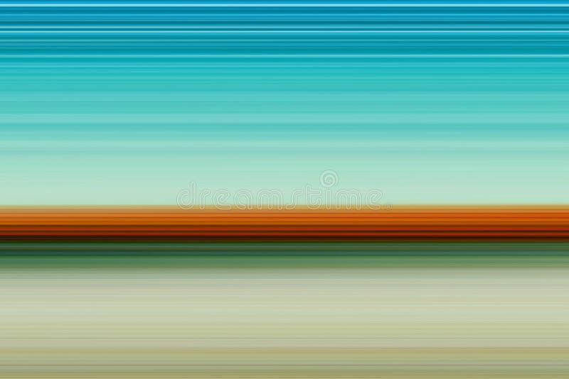 Ð ¡ horyzontalnych linii olorful abstrakcjonistyczny jaskrawy tło, tekstura w jaskrawych brzmieniach ilustracja wektor