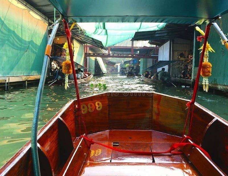 Ð-¡ ity †‹â€ ‹auf dem Fluss in Thailand stockfotos