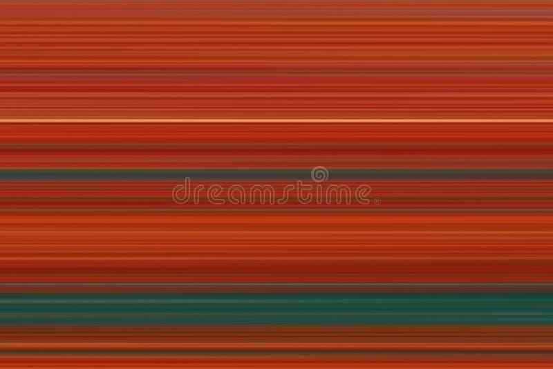 Ð ¡ olorful abstracte heldere horizontale lijnenachtergrond, textuur in rode en groene tonen royalty-vrije illustratie