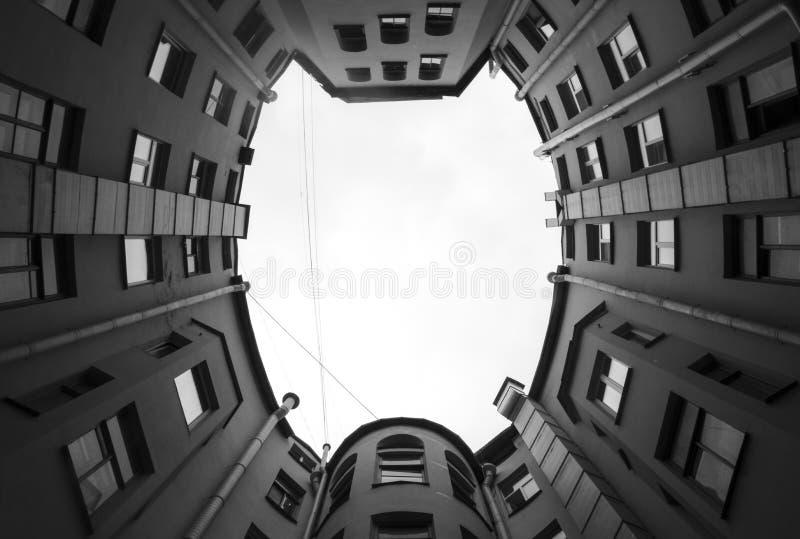 Ð ¡ ourtyard, Αγία Πετρούπολη στοκ φωτογραφία