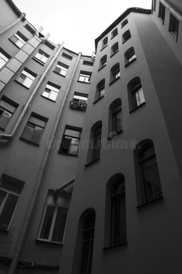 Ð ¡ ourtyard, Αγία Πετρούπολη στοκ εικόνες με δικαίωμα ελεύθερης χρήσης