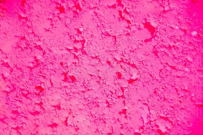Ð ¡ rimson de roze achtergrond van het kleurenpoeder Heldere kleuren voor Indisch holifestival Kleurrijk gulal, kosmetisch poeder stock foto's