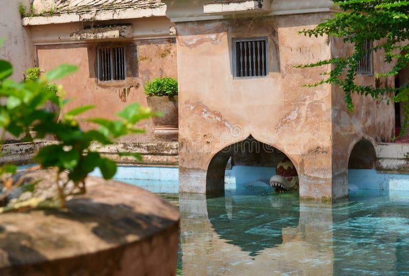 Дворец воды сари Taman в Yogyakarta, Индонезии стоковая фотография