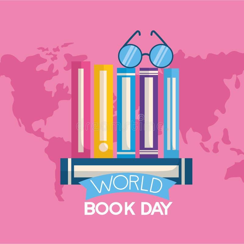 День книги мира бесплатная иллюстрация