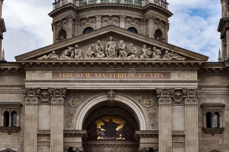 Деталь базилики St Stephen стоковые изображения rf