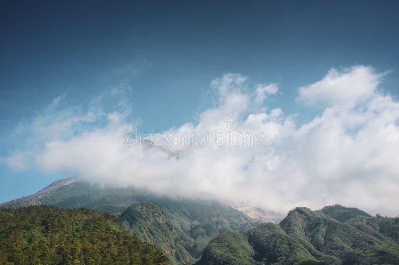 Держатель Merapi стоковое фото rf
