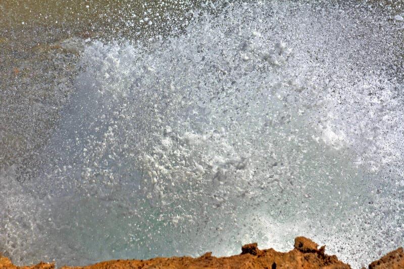 Дикое джакузи Curacao - Suplado стоковые изображения