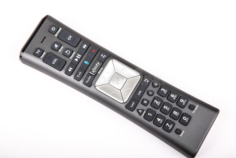 Дистанционное управление Comcast стоковое изображение