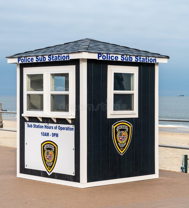 Длинная коробка полиции Bracnh стоковое фото