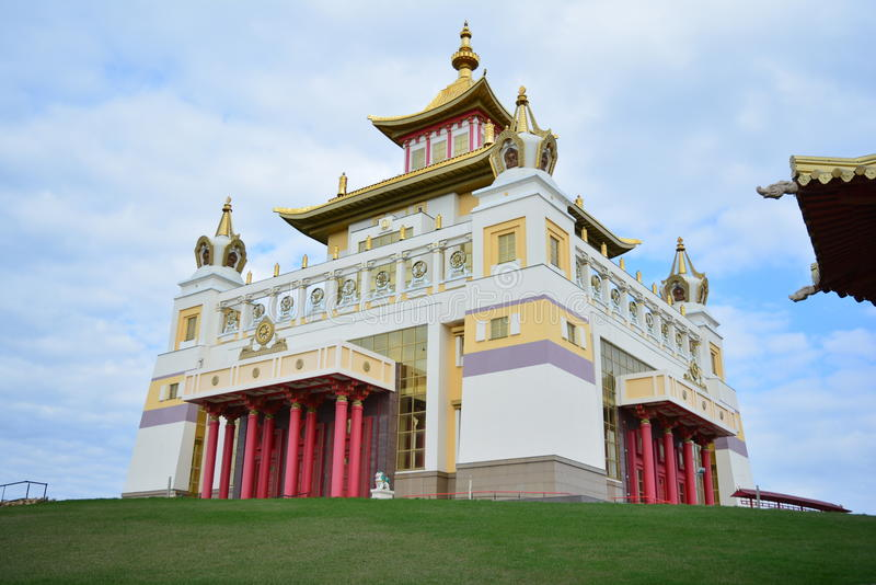 ТР½ е het grootst van Centrale khurul royalty-vrije stock foto's