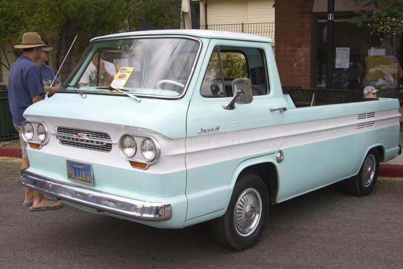 Ð ¡ Ð ¡ 1962 95 orvair rampside hevy furgonetka zdjęcia stock