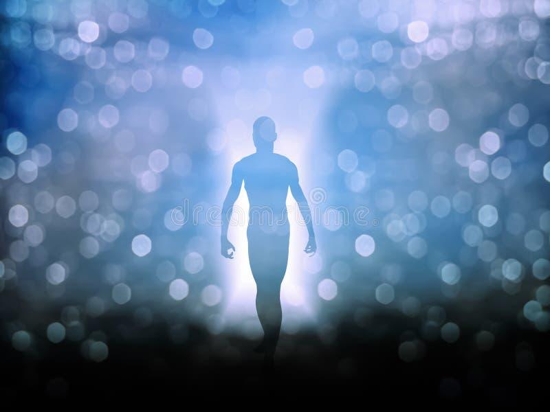 Душа или аура бесплатная иллюстрация