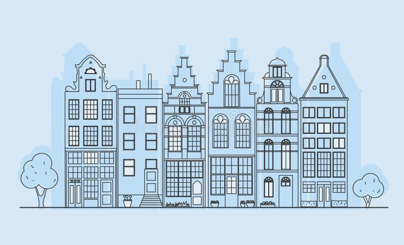  ¿ Ð¸Ñ ¾ Ð Houses7 кРиллюстрация вектора