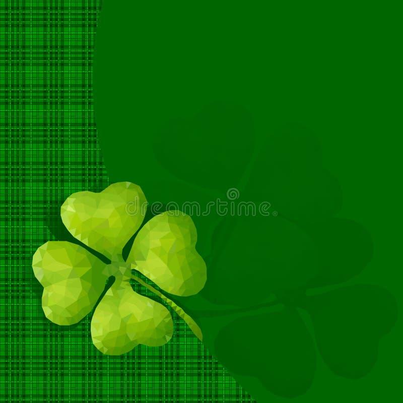 Ð-¡ över för Stets Patrick dagferien royaltyfri illustrationer