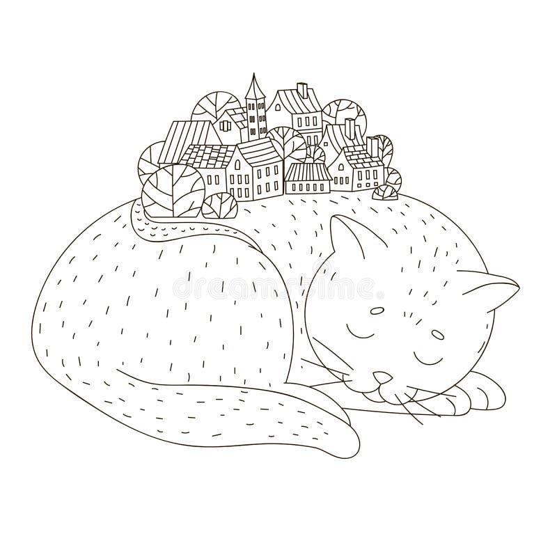 ¡ Ð на спать иллюстрация штока