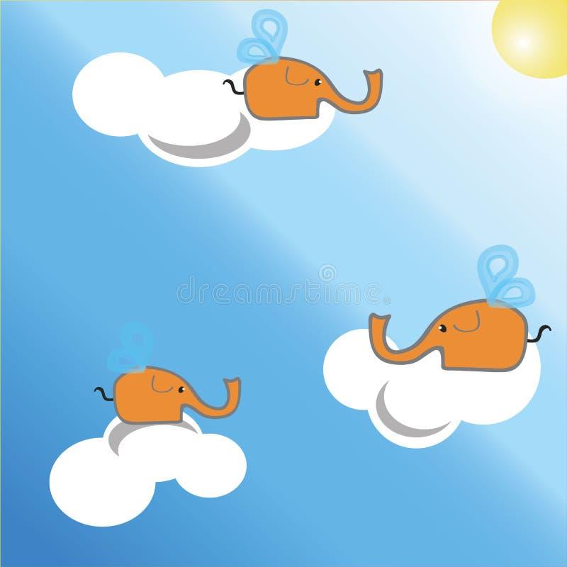 Ð ¡ artoon大象,大象 库存图片