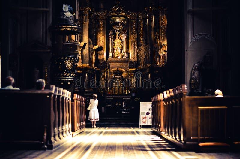Ð ¡ atholic kościół fotografia royalty free