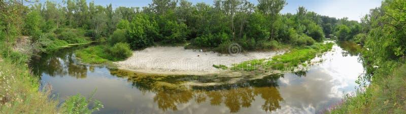 Ð'end del río foto de archivo libre de regalías