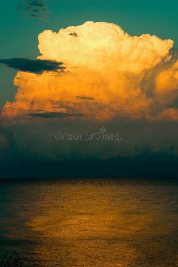 Ð ¡ głośny nad morzem fotografia royalty free
