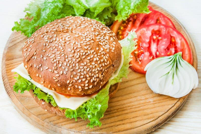 Ð-¡ heeseburger stockfotografie