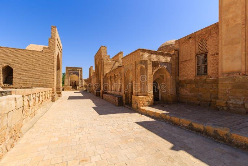 Ð ¡ ity nieboszczyk Pamiątkowy kompleks, necropolis Chor-Bakr w Bukhara, Uzbekistan Unesco światowe dziedzictwo zdjęcie stock