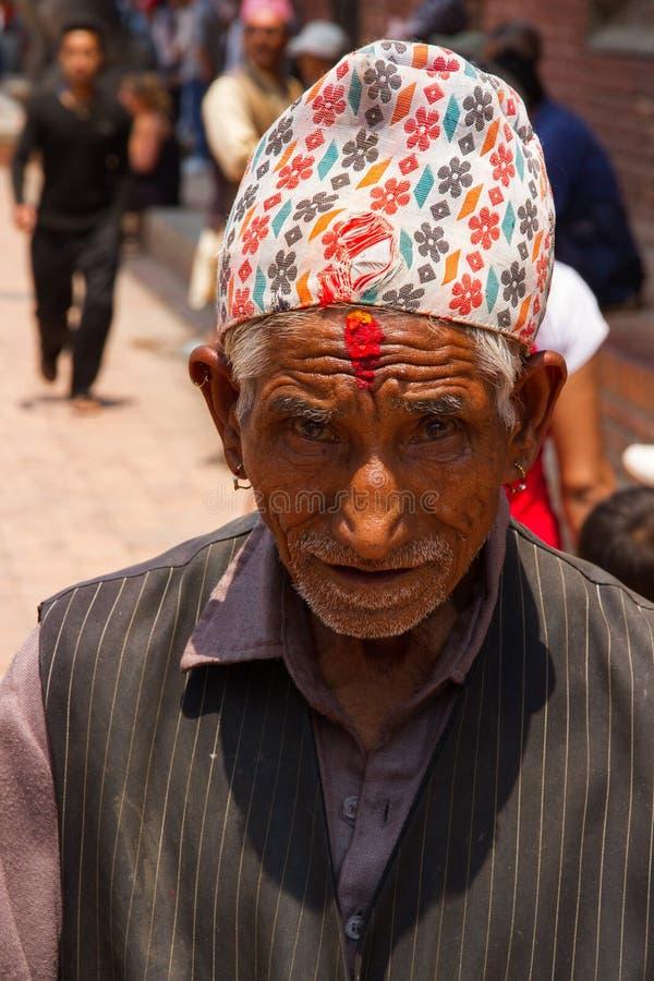 Ð ¡ olorful老尼泊尔 库存照片