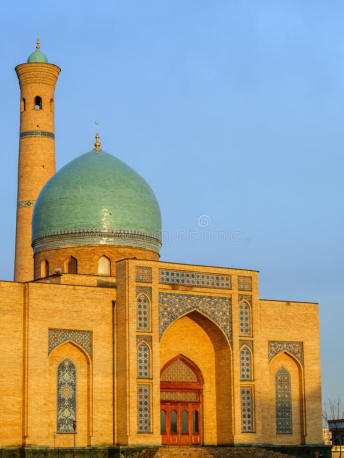 Ð ¡ omplex khast-Imom in Tashkent, Oezbekistan royalty-vrije stock afbeelding