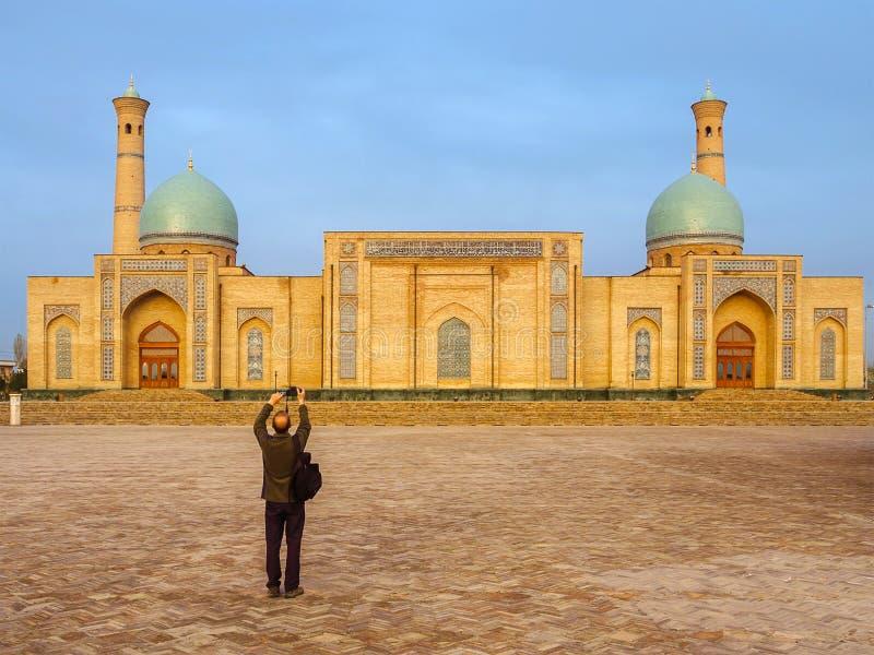 Ð ¡ omplex khast-Imom in Tashkent, Oezbekistan stock foto's