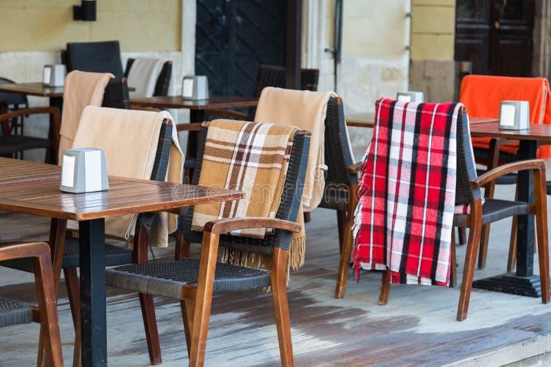 Ð ¡ ozy咖啡馆在利沃夫州 免版税库存照片