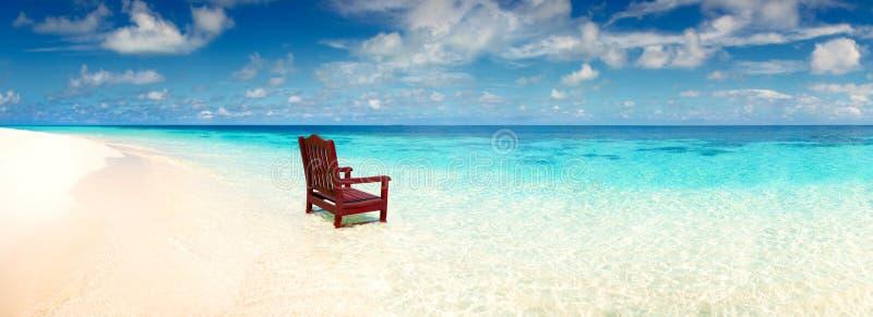 Ð ¡ włosiana pozycja w morzu na plaży obraz royalty free