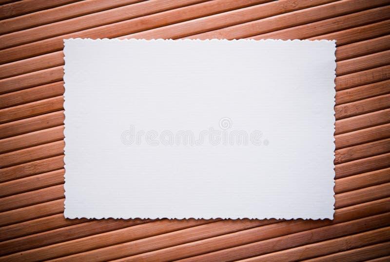 Ðld Foto mit einem dekorativen Rand stockfotografie
