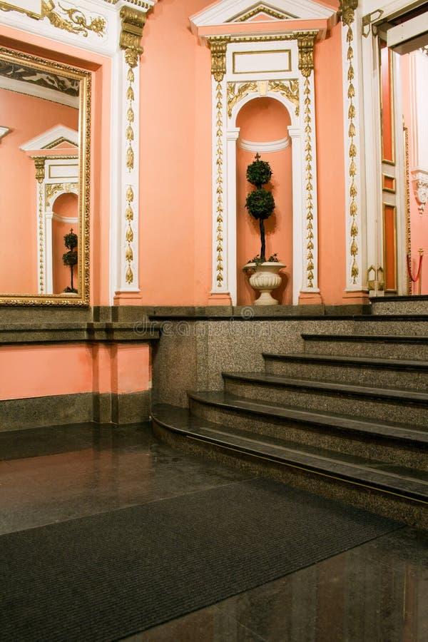 Ðntechamber no estilo do neo-Renascence fotografia de stock royalty free