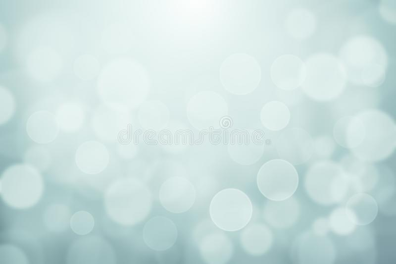 Салатовой запачканное синью bokeh мягких светов текстурировало абстрактную предпосылку, светлую текстуру bokeh зимы для фона или  бесплатная иллюстрация