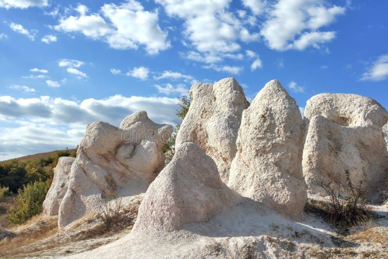 Свадьба горной породы каменная около городка Kardzhali, Болгарии стоковое изображение